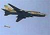 Сирийские Су-22М4 уничтожают террористов вакуумными бомбами