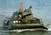 В КНДР продемонстрировали самый секретный плавающий танк в мире