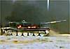 Сирийский экранированный Т-72 горит, но не сдается… и побеждает