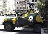 Сирийские войска используют английские бронеавтомобили