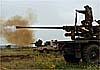 В Сирии «летающий танк» могли поразить из орудия С-60