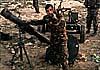 В Сирии армия «давит» террористов русскими «Санями»