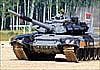 Белорусский Т-72БМ1 вывел свою команду в финал танкового биатлона