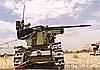 В Сирии будет испытан боевой робот с шестиствольным пулеметом