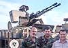В Сирии замечена оригинальная роботизированная артустановка