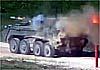 Впервые в Сети: БМП К-17 «Бумеранг» запускает «Корнет»