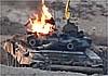 В Сирии подбит Т-90А