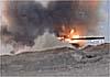В Сирии террористам удалось поджечь танк с «бровями Брежнева»