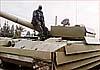 В Сирии сгорел один из знаменитых Т-72 с «уголковой защитой»