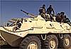 В Сирии ПТУР «проломил» подозрительный БТР-60ПБ