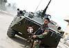 В Сирии воины Асада используют в боях новейшую модификацию БТР-80