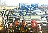 Воюющие в Сирии БТР-80 получили защиту от реактивных гранат