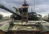 В Сирии снова замечена очень редкая модификация Т-90