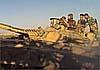 Сирия: Т-55 и Т-72М1 в пустыне защищают антиракетные «Миражи»