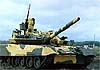 Русский танк Т-80У-М1 «Барс» опередил «Абрамс» на 20 лет