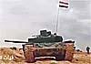 В Сирии замечен Т-72 с непривычно «квадратной башней»