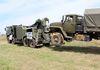 На полигоне Прудбой впервые показали новейший военный тягач КЭТ-Л1
